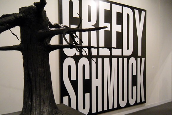 Untitled (Greedy Schmuck)