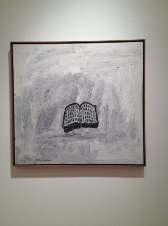 Philip Guston Book 1968 gouache on panel 30 x 32 inches 76.2 x 81.3 cm