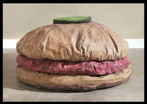floor burger