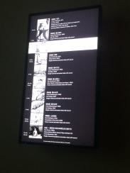 video ink art screen