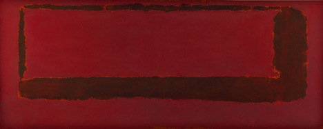 mark rothko red on maroon mural, section 5