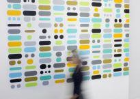 Matt Magee Wall Drawing Grapheme at Tamarind Institute